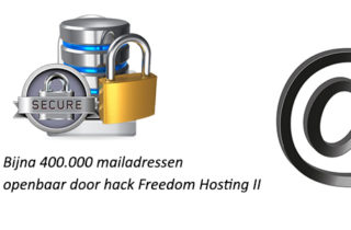 Bijna 400.000 mailadressen openbaar door hack Freedom Hosting II