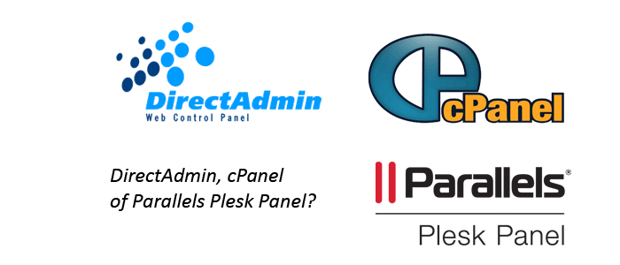 DirectAdmin cPanel of Parallels Plesk Panel