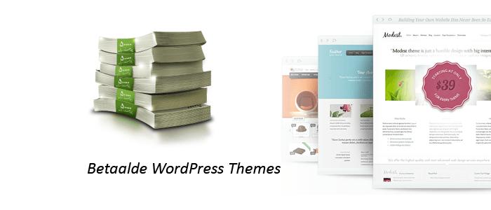 betaalde wordpress themes