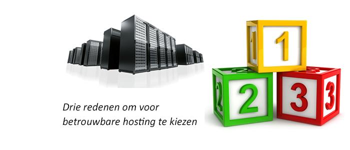 Betrouwbare hosting kiezen