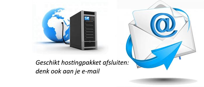 Geschikt hostingpakket