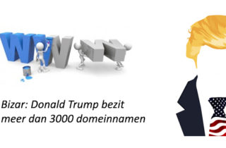 Donald Trump bezit meer dan 3000 domeinnamen