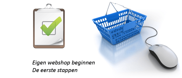 Eigen Webshop Beginnen
