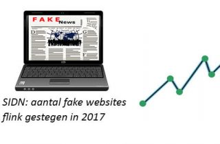 Fake websites flink gestegen 2017