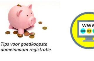 goedkoopste domeinnaam registratie