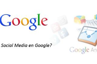 Social Media en Google