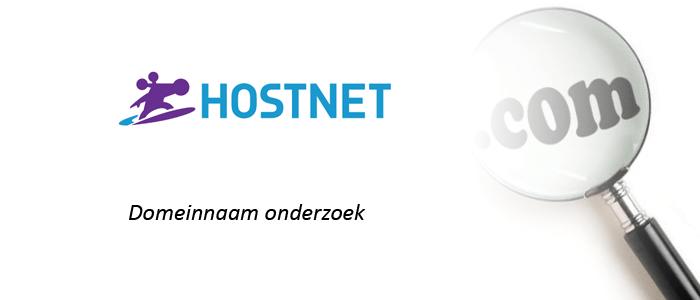 Hostnet Domeinnaam Onderzoek