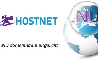 Hostnet NU domeinnaam