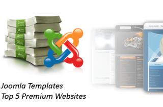 Joomla Templates - Top 5 Premium Websites