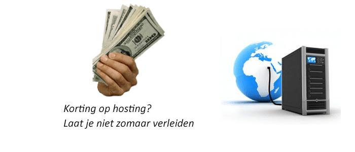 korting op hosting