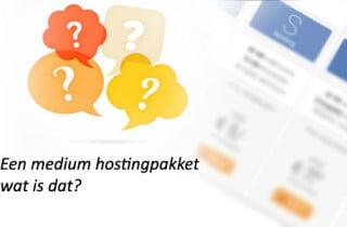 Medium Webhosting Pakket
