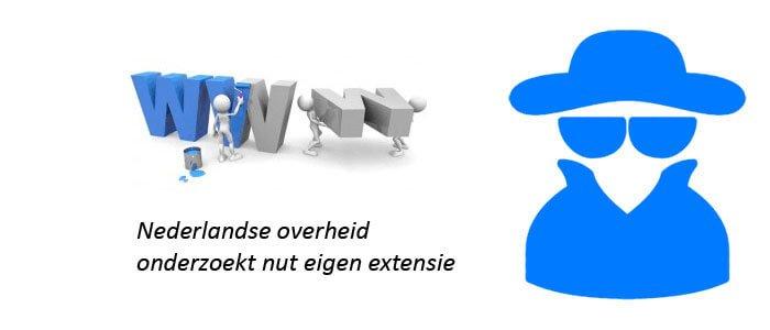 Nederlandse overheid onderzoekt nut eigen extensie