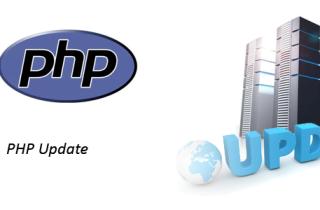 PHP Updaten