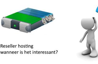 Reseller hosting: wanneer is het interessant?