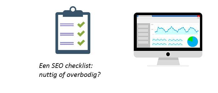 Een SEO checklist: nuttig of overbodig?