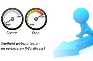 snelheid website testen