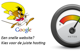 Een snelle website? Kies voor de juiste hosting