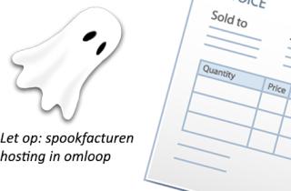 Spookfacturen hosting in omloop