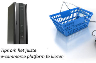 E-commerce platform kiezen