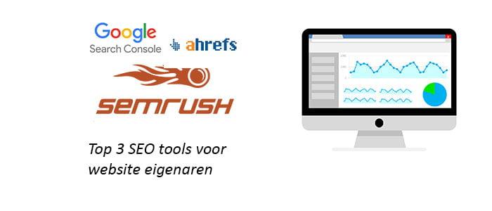 Top 3 SEO tools voor website eigenaren
