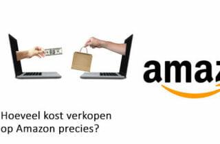 Hoeveel kost verkopen op Amazon precies?