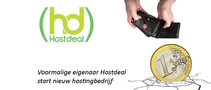 Eigenaar hostdeal start nieuw hosting bedrijf