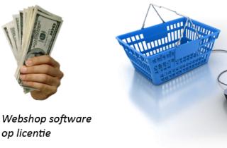 webshop software op licentie