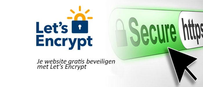 Je website gratis beveiligen met Let's Encrypt