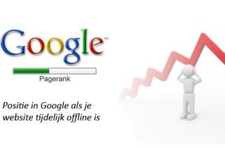 Website tijdelijk offline