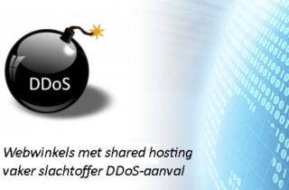 Webwinkels met shared hosting vaker slachtoffer DDoS-aanval